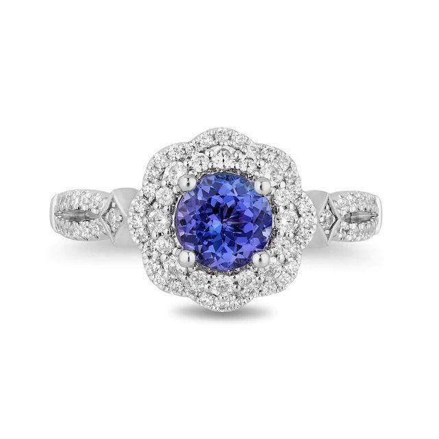 Zales Enchanted Disney Ultimate Princess Tanzanite Engagement Ring