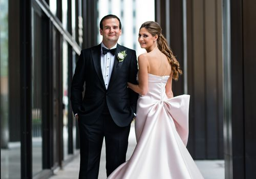 Richelle McCoy and John Tiedmann Jr. marry at Chicago's Revel Motor Row.