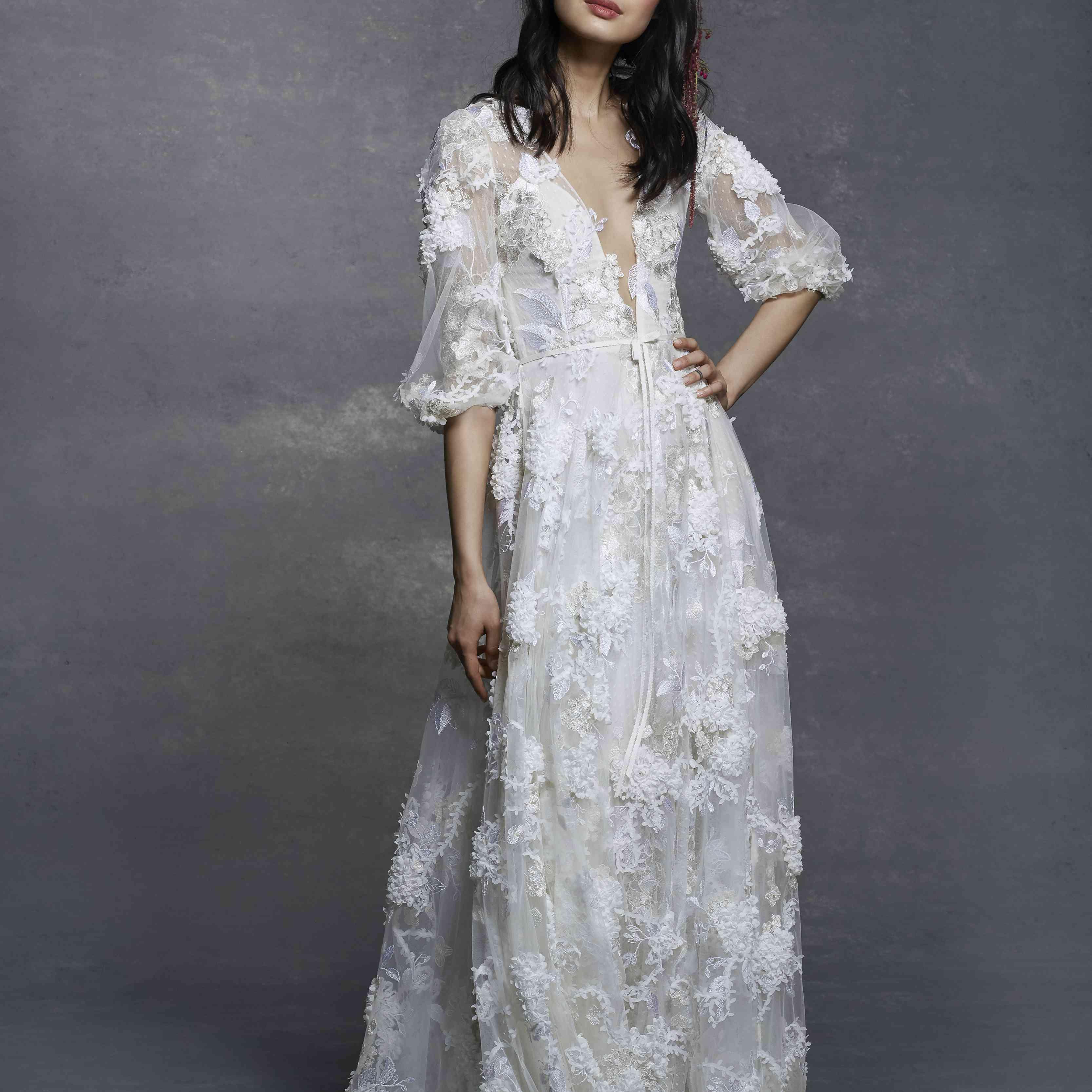 Gallery New Mira Zwillinger Wedding Dresses Spring 2019: Marchesa Notte Bridal Spring 2019