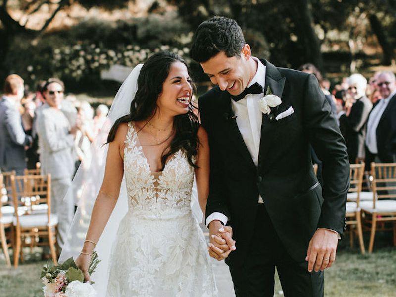 Exclusive: Artist Amanda Oleander's Personalized Wedding