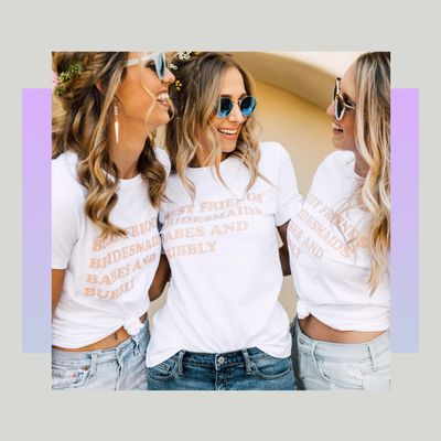 girls in t shirts