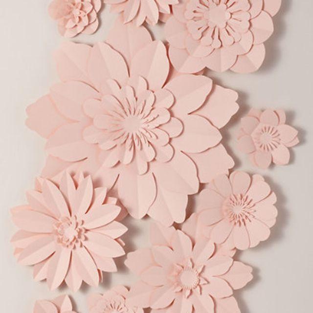 BHLDN Paper Flower Wall Decor