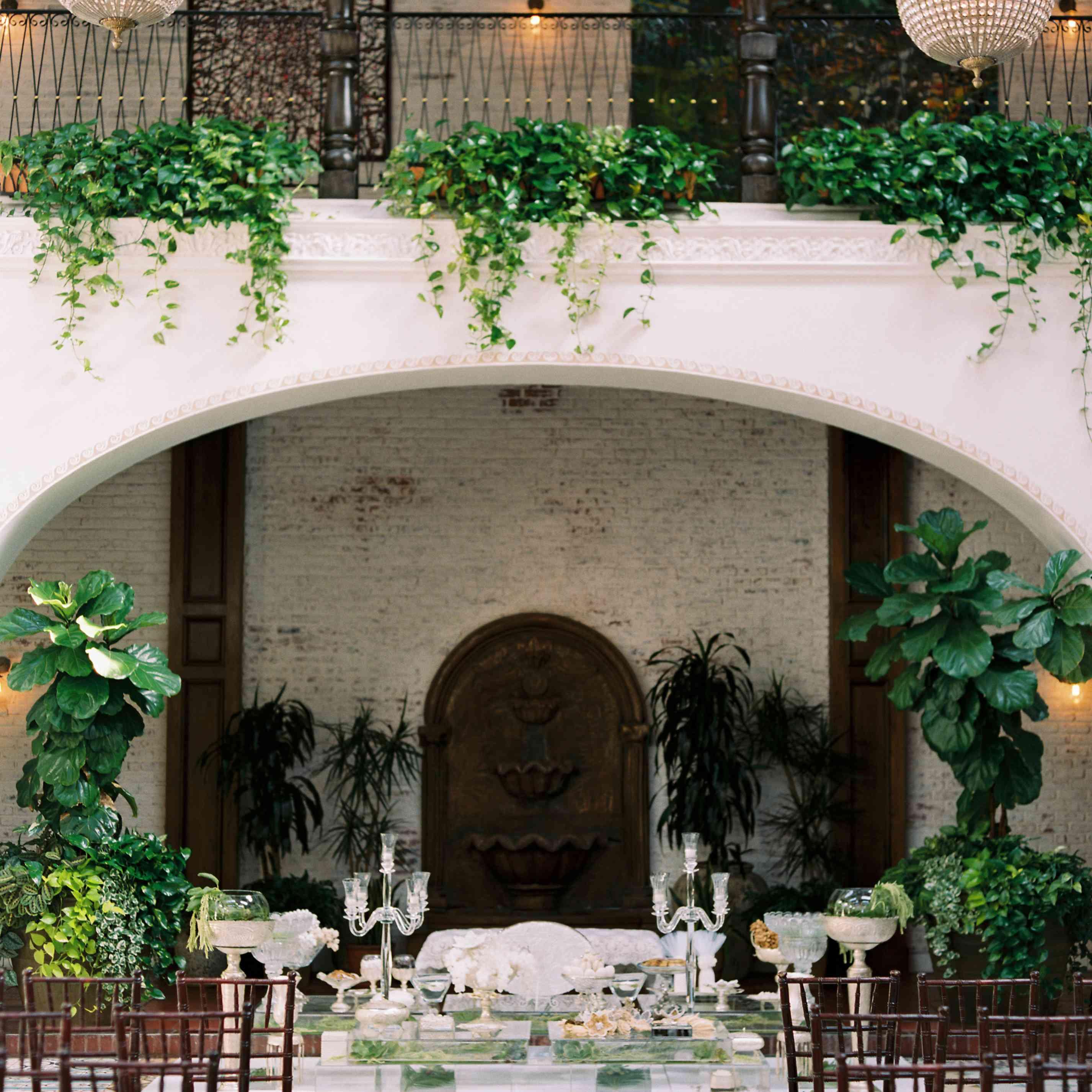 ceremony altar decor
