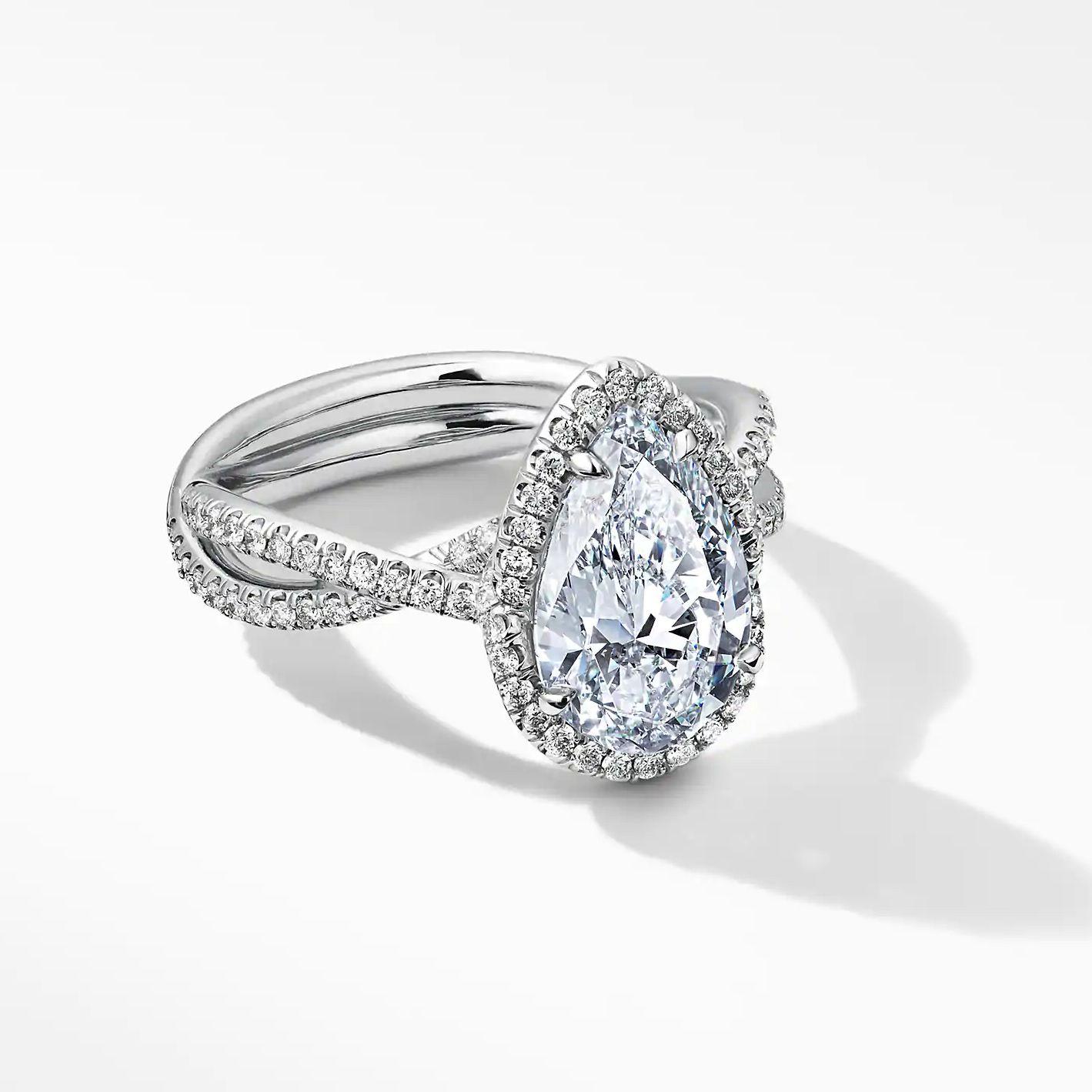 David Yurman Lanai Full Pavé Ring with Diamonds