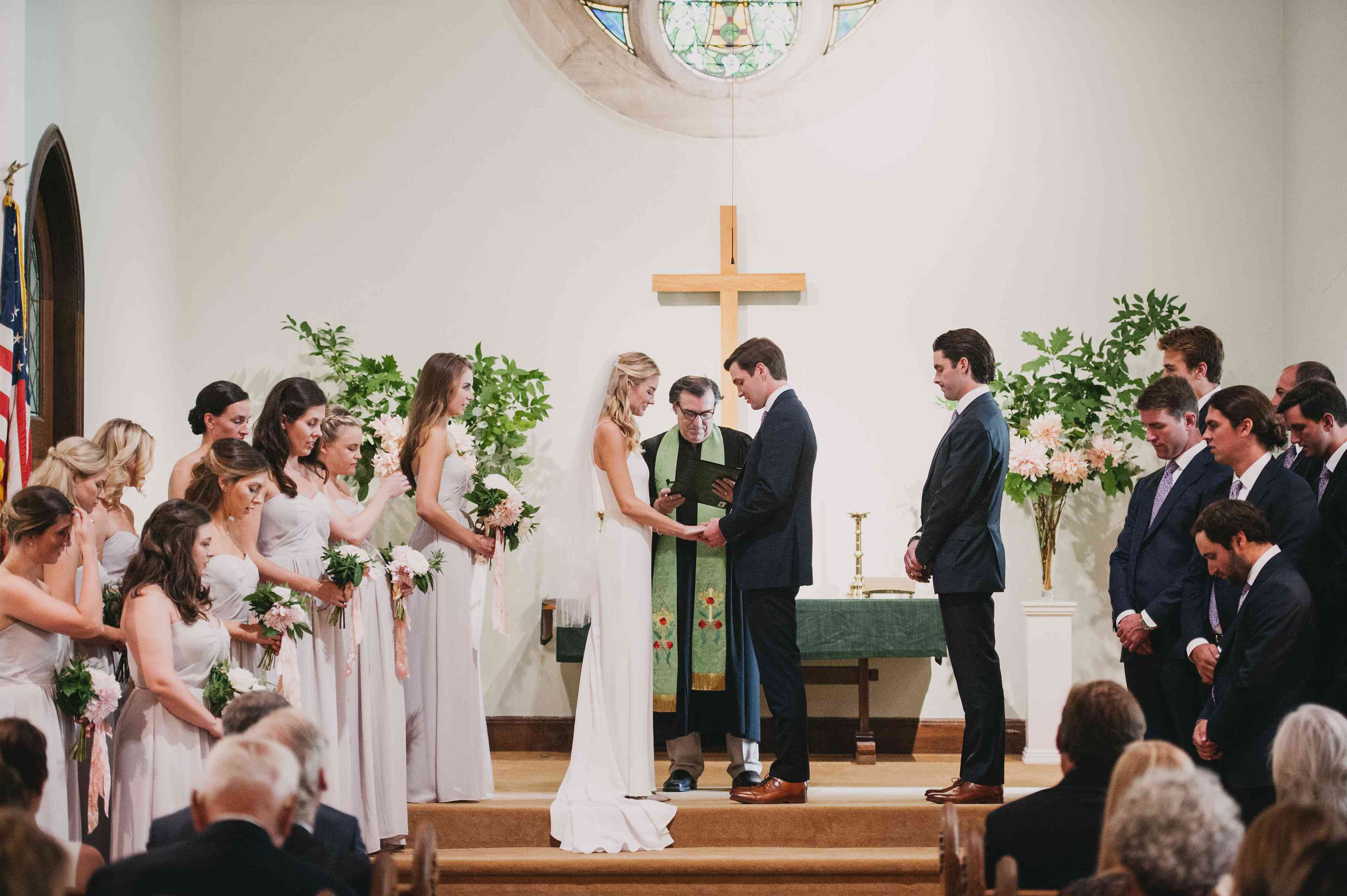 <p>church ceremony prayer during ceremony</p><br><br>