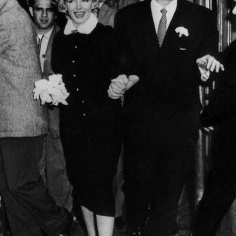 Marilyn Monroe Joe DiMaggio Wedding