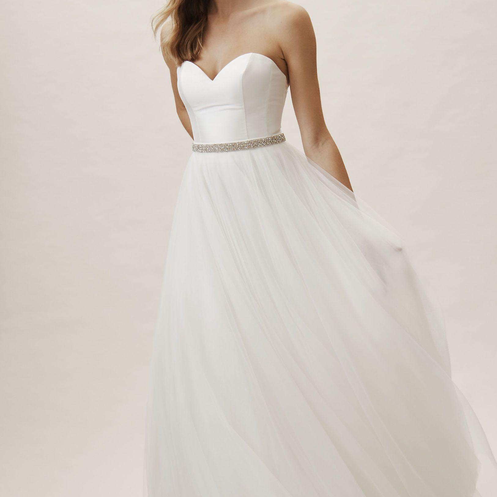 15 Bridal Separates Sets For A Modern Bridal Moment,Short White Dress Wedding