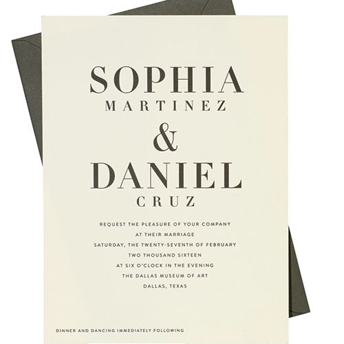 Story Guide To Wedding Invitation Wording: How To Word Your Wedding Invitation