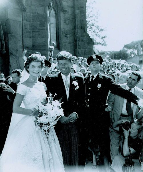 Jacqueline Kennedy Wedding Gown: Take A Look Back At Jackie Kennedy And John F. Kennedy's