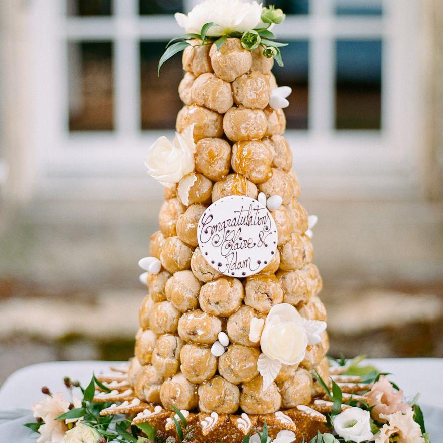 <p>croquembouche wedding cake</p><br><br>