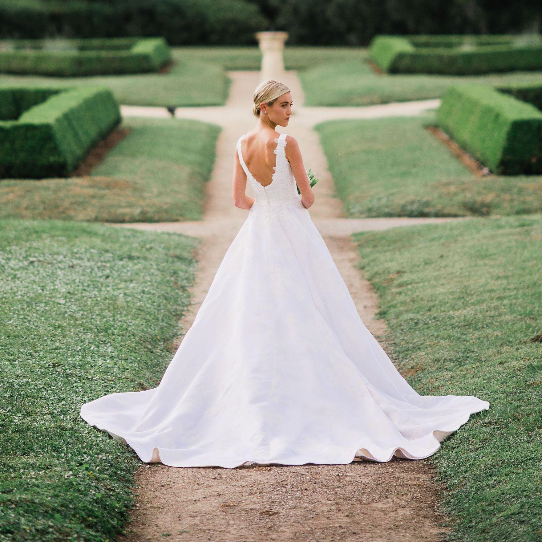 8 A-Line Wedding Dresses We Love