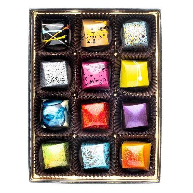 Phillip Ashley Chocolates Signature 12-Piece Designer Chocolates