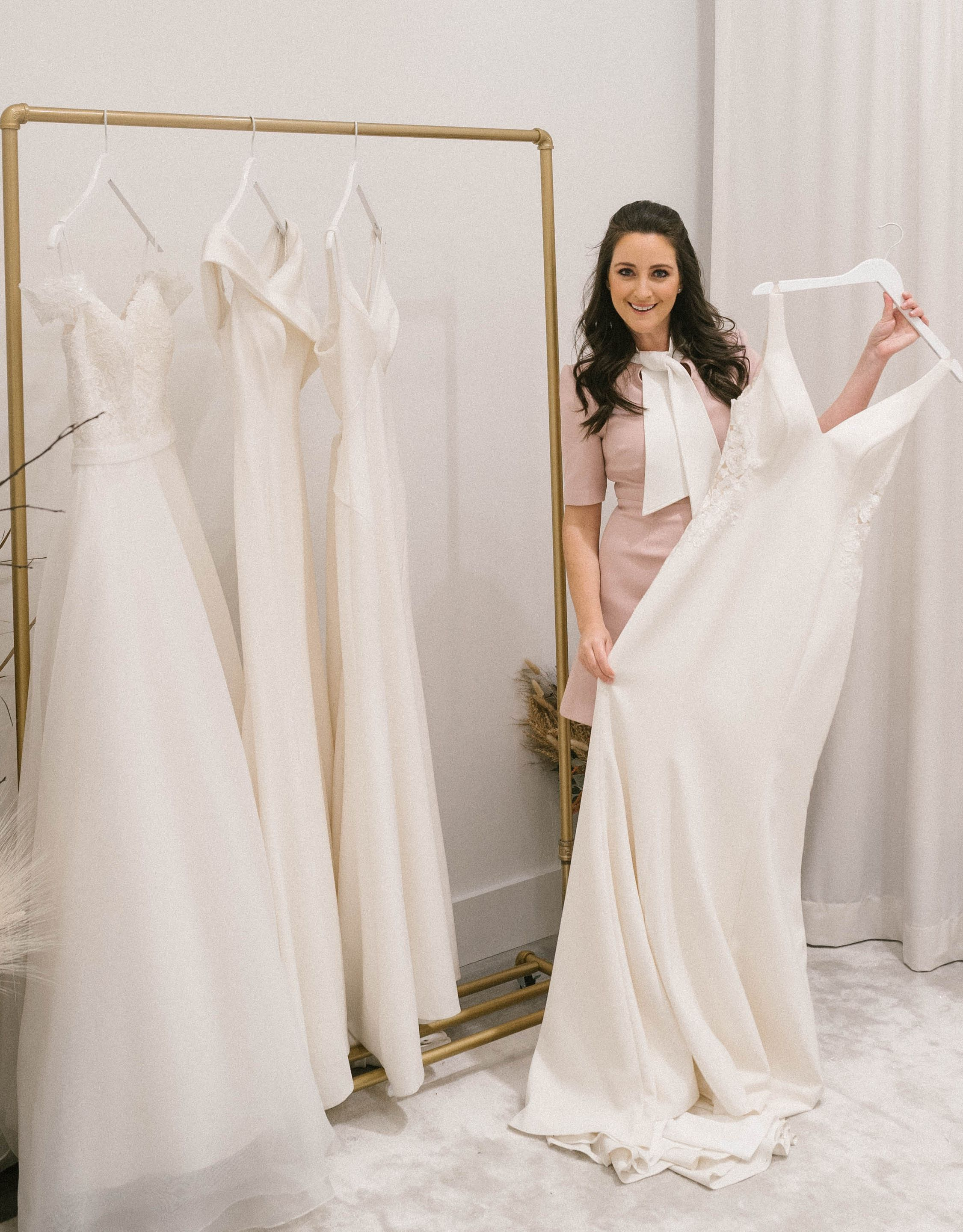 Exclusive: Celebrity Stylist Micaela Erlanger Curated The Perfect Bridal Collection with Brideside