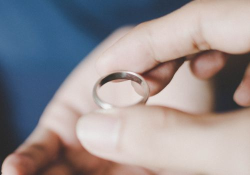 taking off wedding ring
