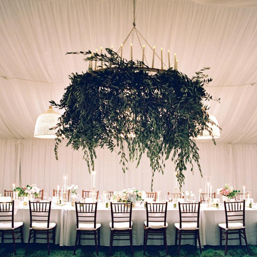 Wedding Flower Arrangements Pinterest: How To Make Pinterest's Overhead Floral Arrangement Trend