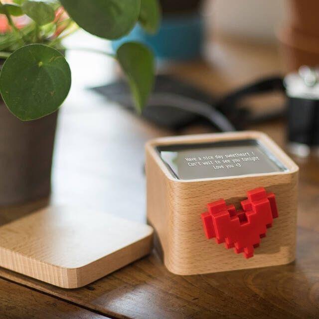 Uncommon Goods Lovebox Spinning Heart Messenger