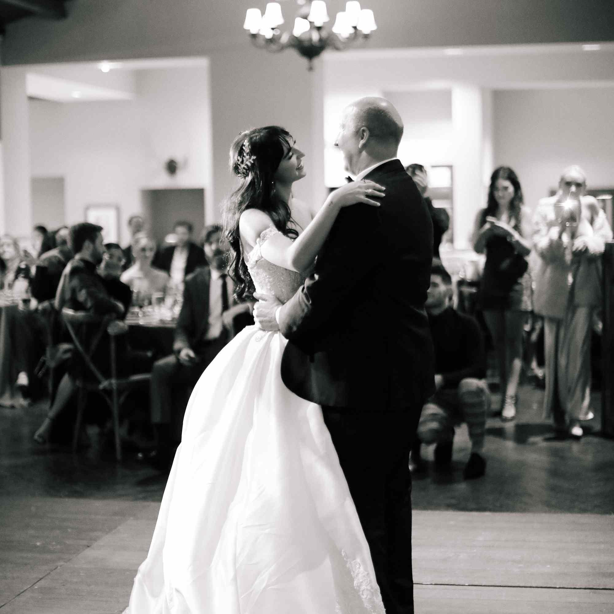 savannah and riker wedding, father daughter dance