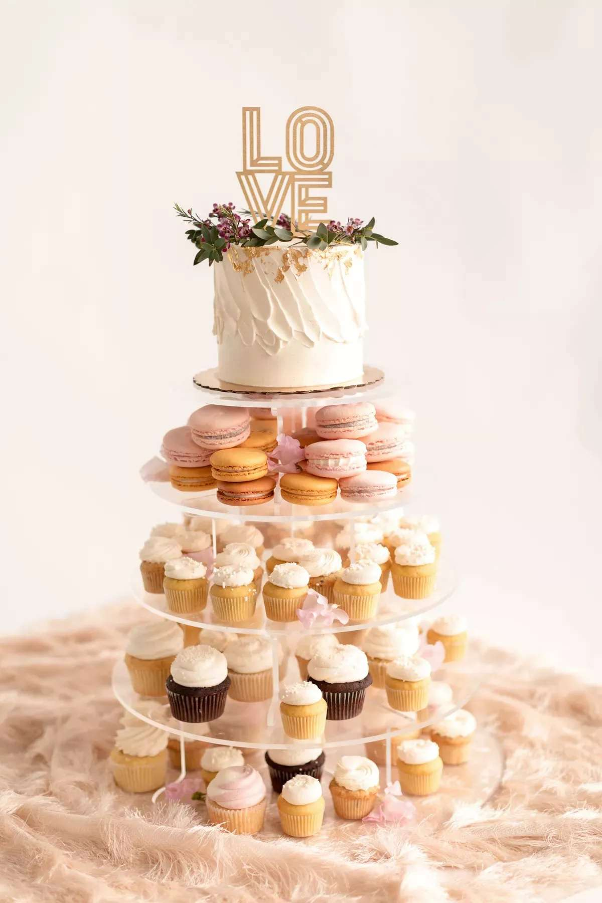 Wedding sweets tower