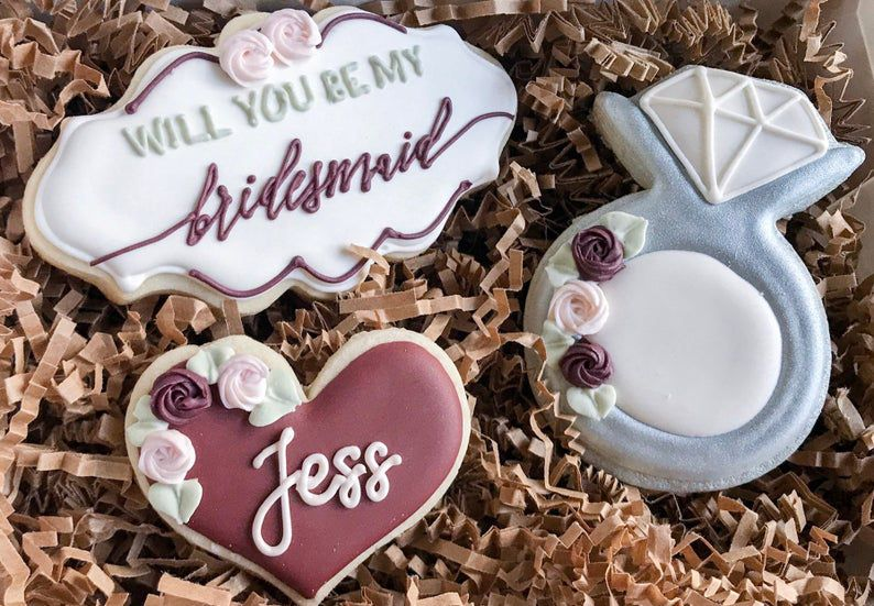 bridesmaid proposals for the foodie bride