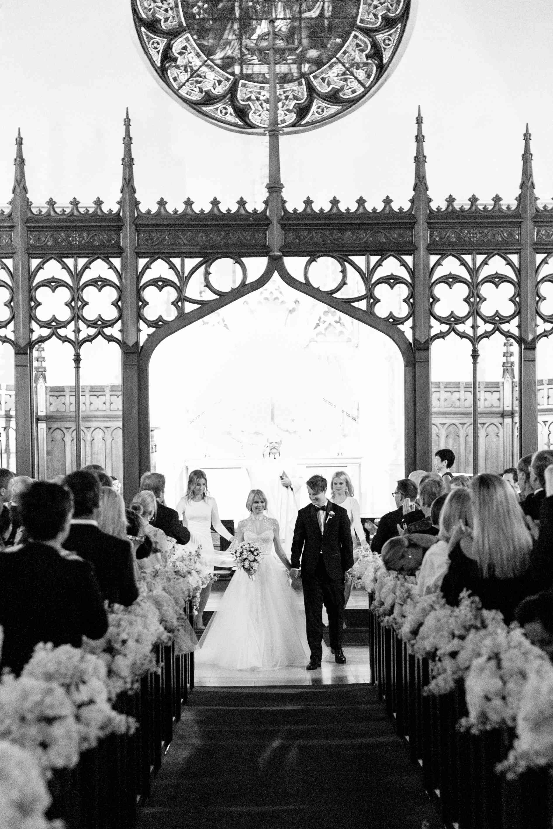 <p>Bride and Groom at Ceremony</p><br><br>