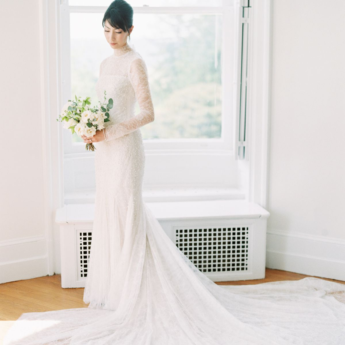 These 27 Stylish Real Brides Wore Long Sleeves,Wedding Dresses Nordstrom Sale