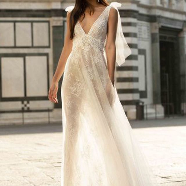Muse by Berta Flavia Wedding Gown, price upon request