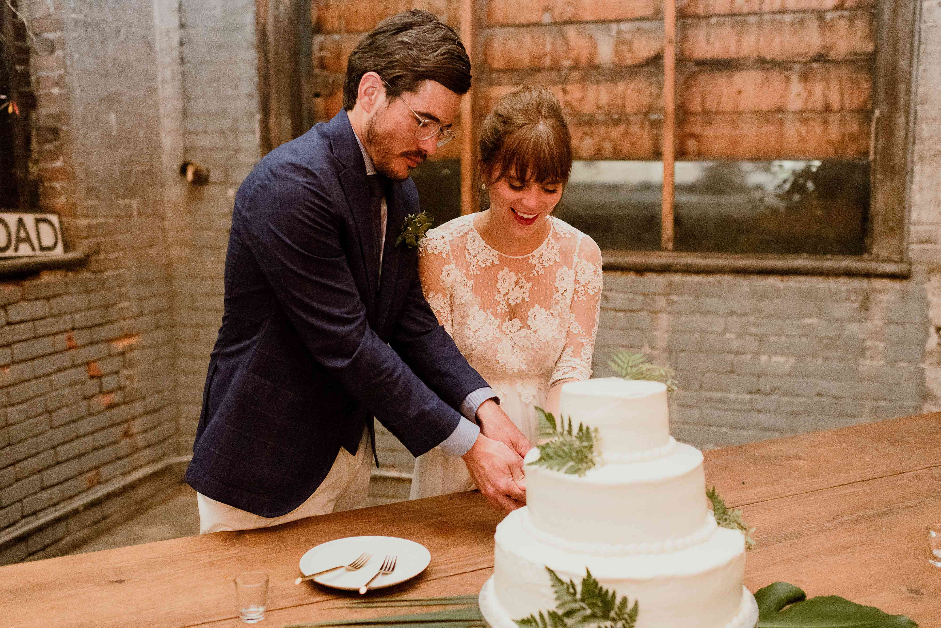 <p>cutting the cake</p><br><br>