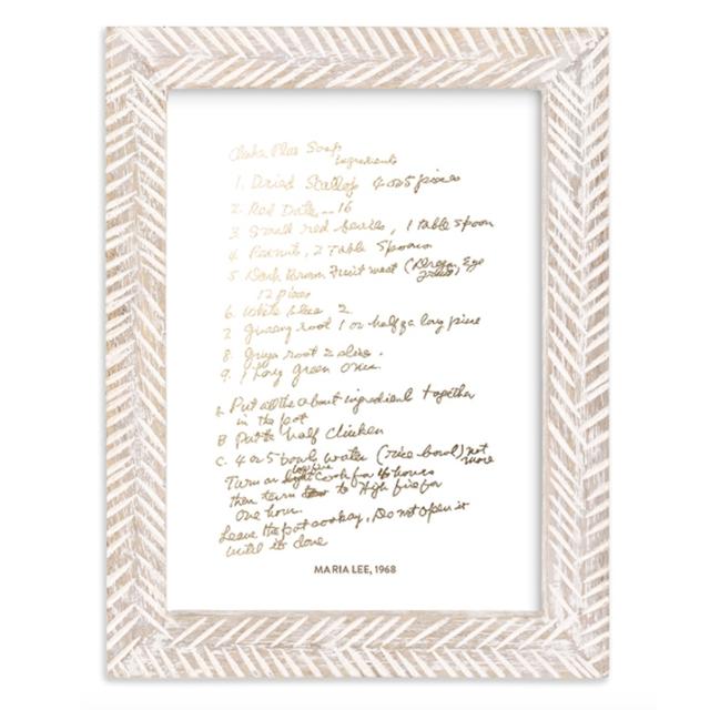 Your Recipe as a Custom Art Print