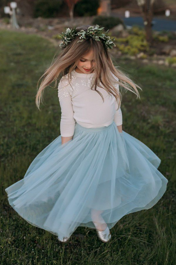 bcbfc5731d8a5 15 Flower Girl Dresses for a Fall Wedding