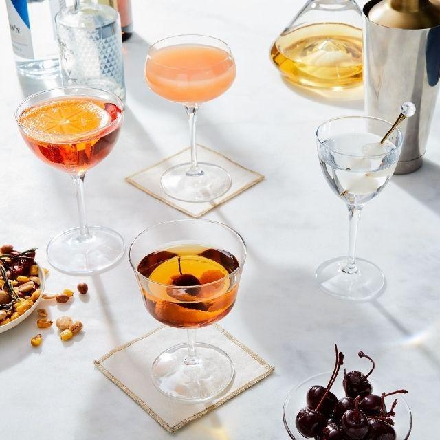 Bormioli Rocco Italian Classic Cocktail Glasses