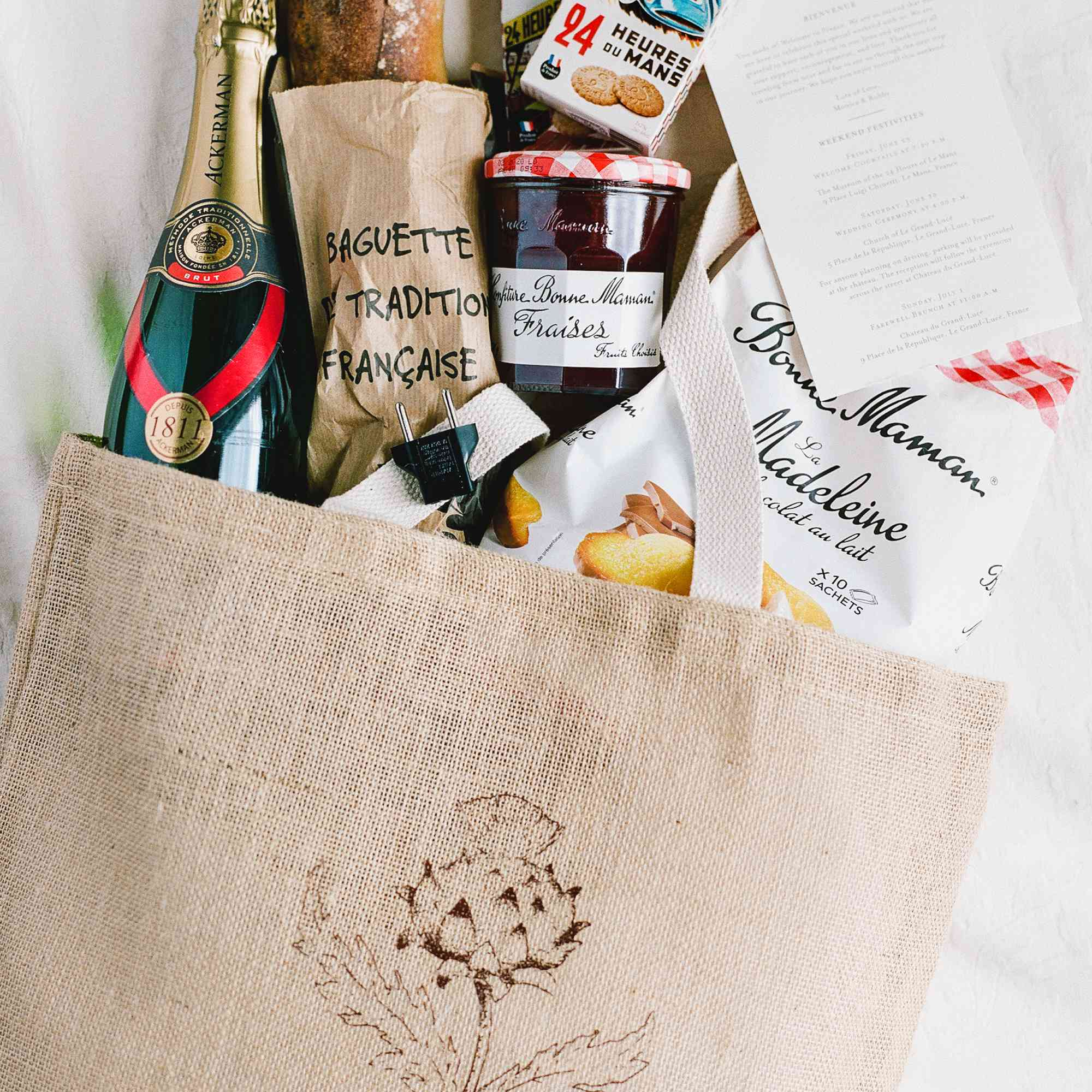 <p>Guest gift bags</p><br><br>