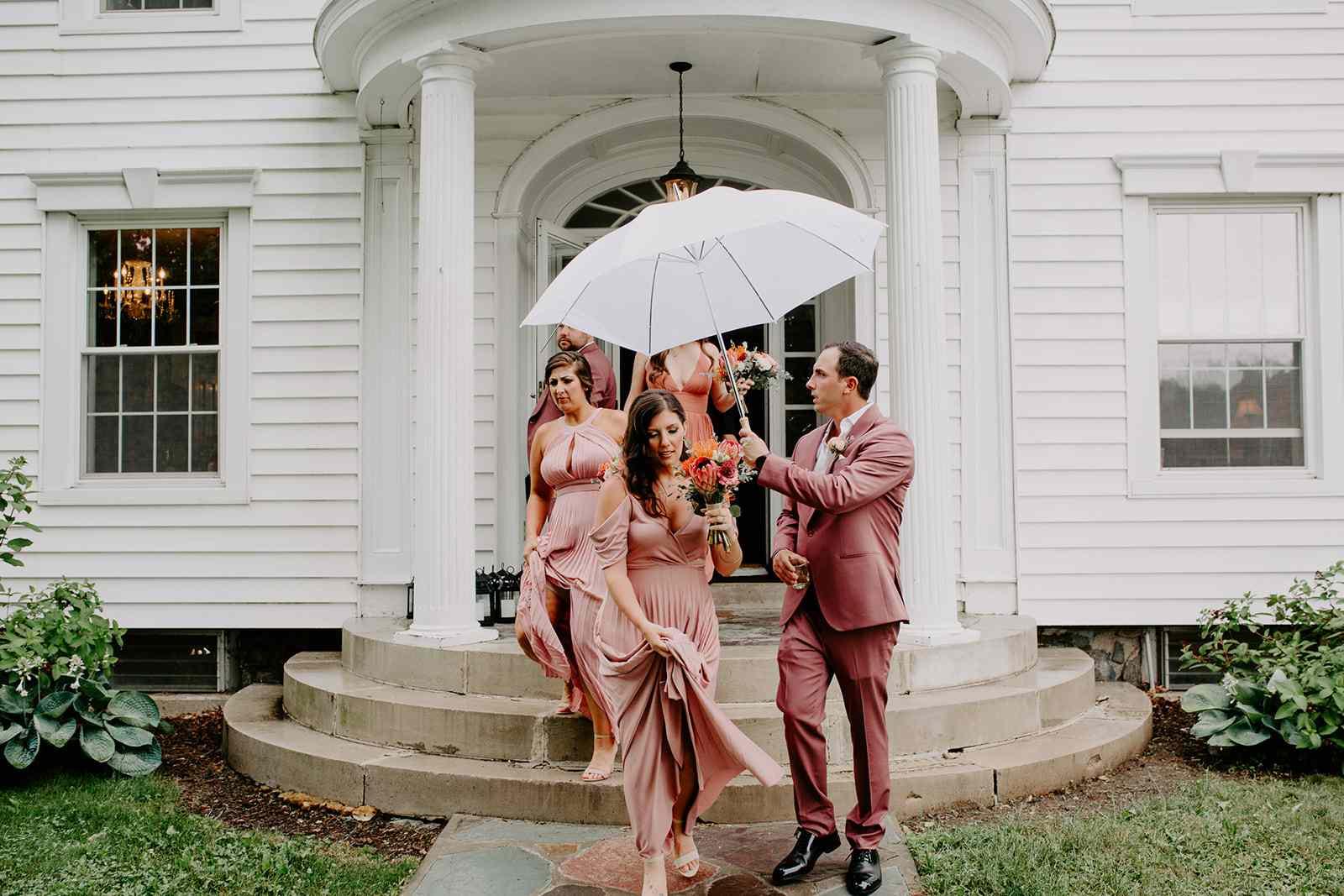 bridesmaids and bridegrooms
