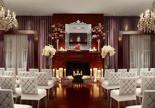 Wedding ceremony on Clift Hotel