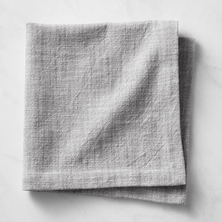 Classic Cotton Chambray Napkins