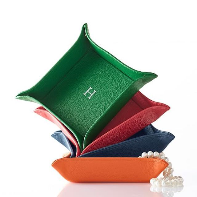Classic Leather Catch All Tray