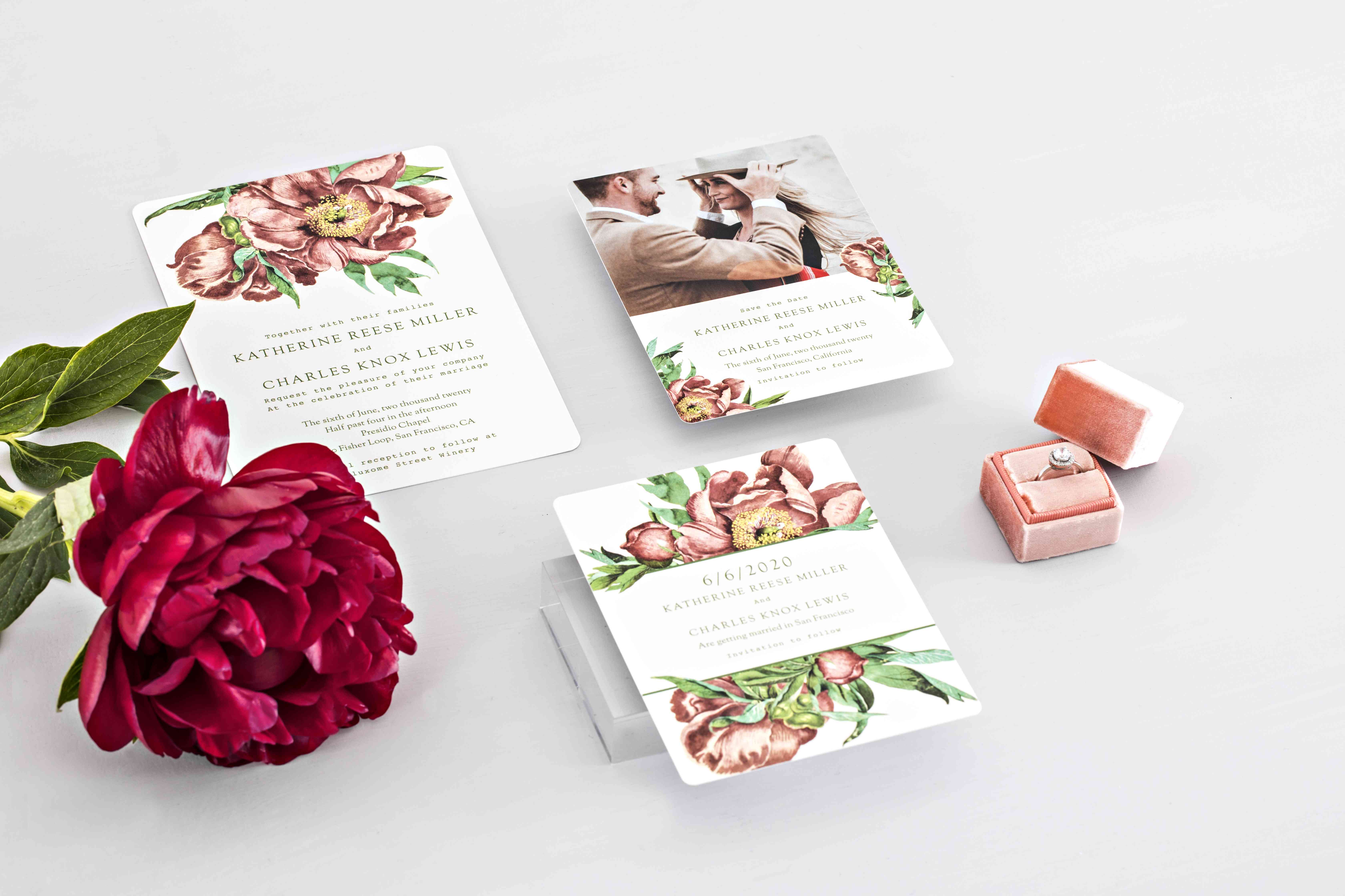News Flash Zola Just Launched Wedding Invitation Suites