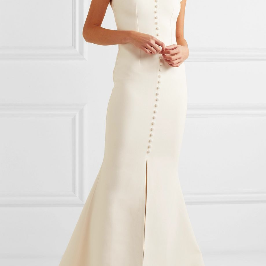 Safiyaa Crepe Gown $1,815