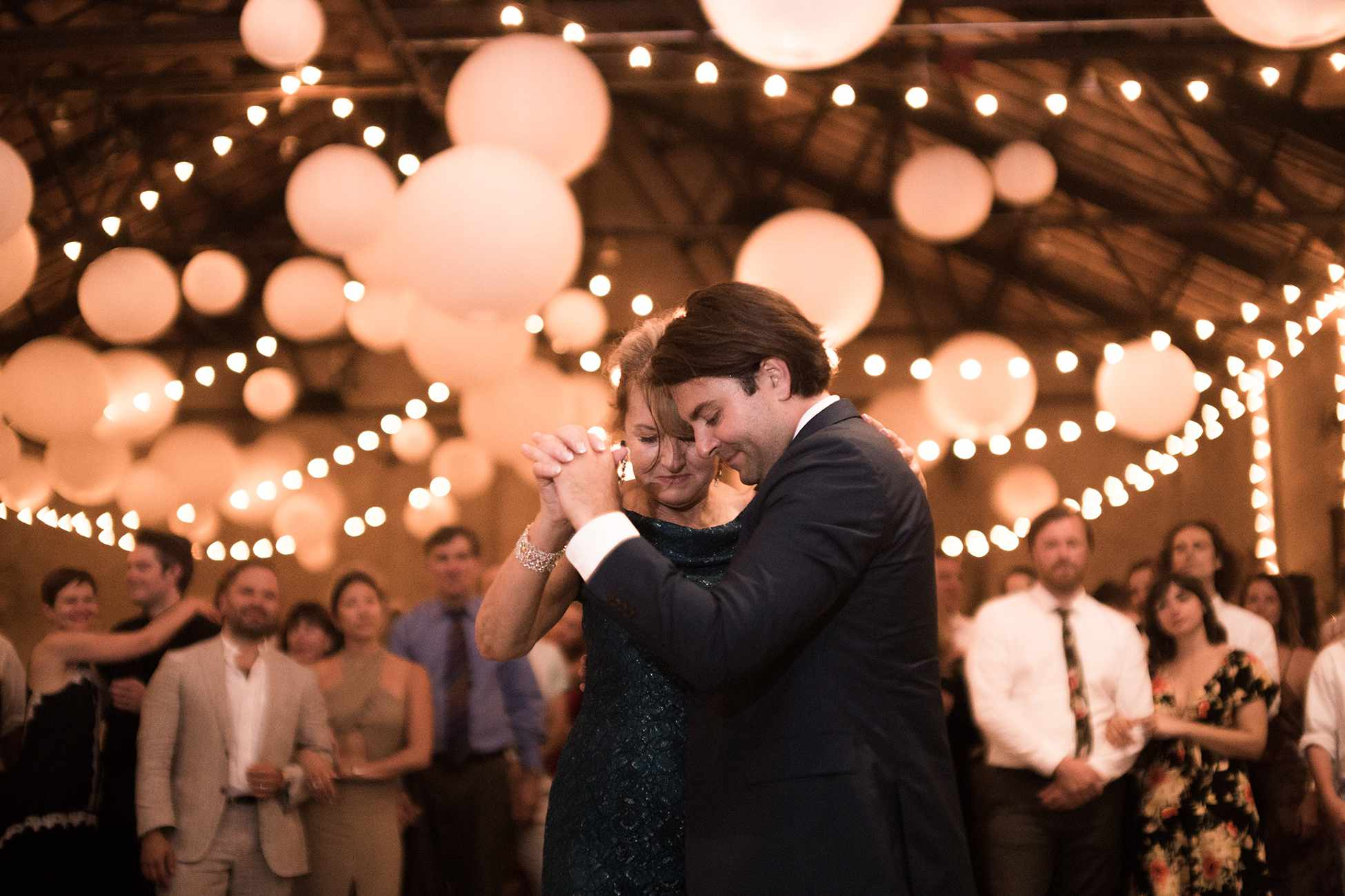 <p>groom and mother of the groom dance</p><br><br>
