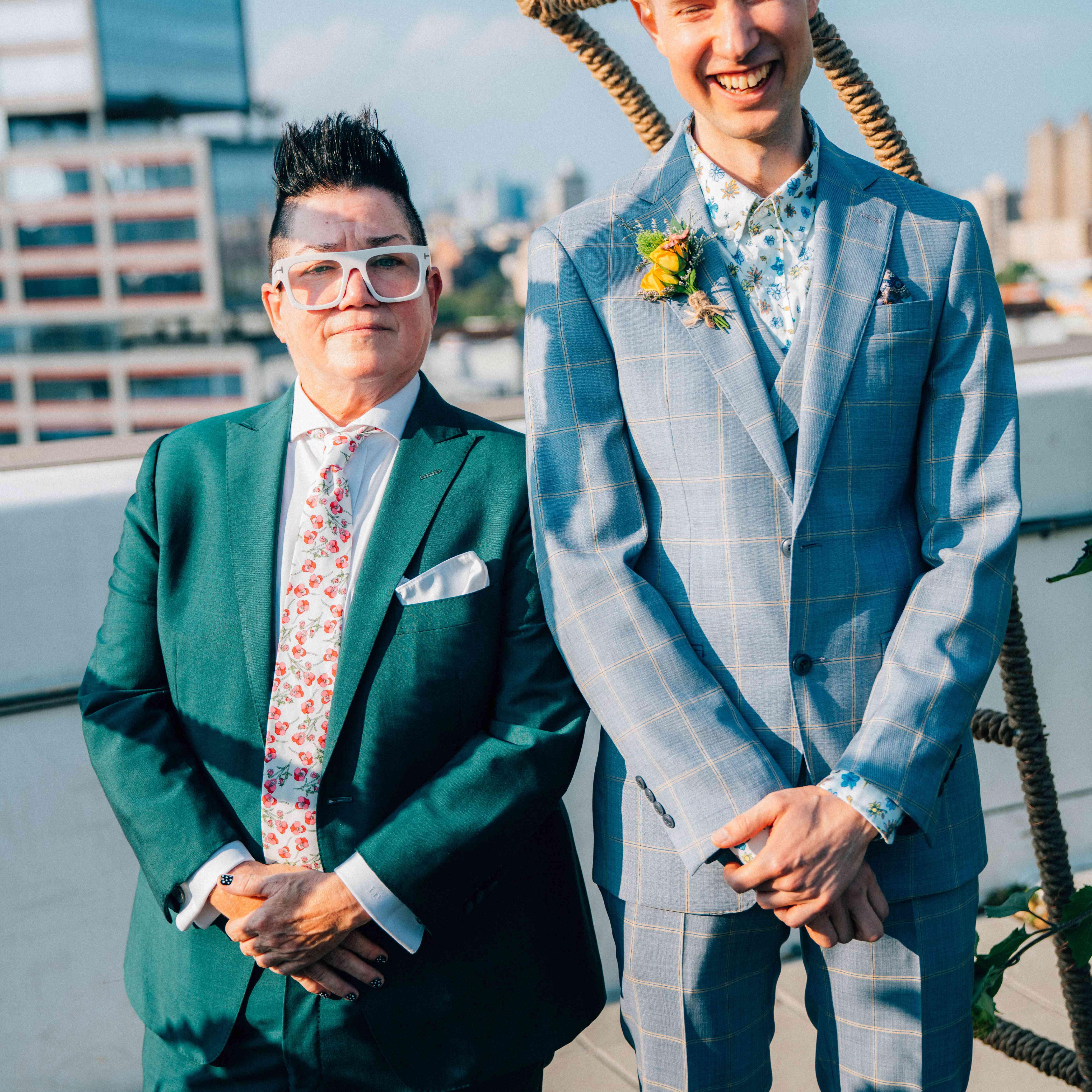 emma myles wedding officiant