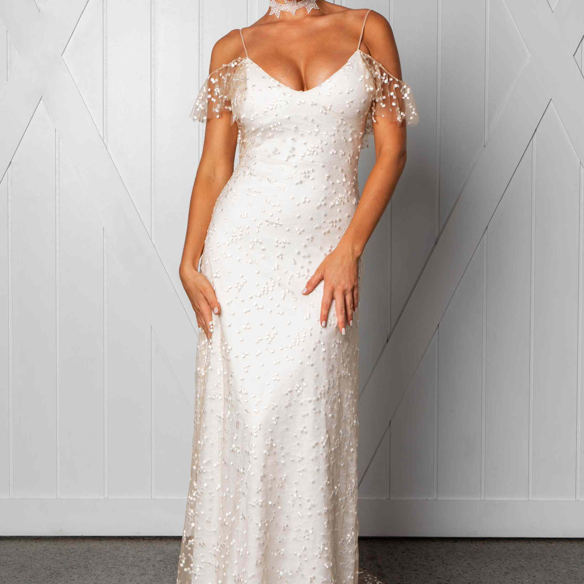Marlo fitted wedding dress