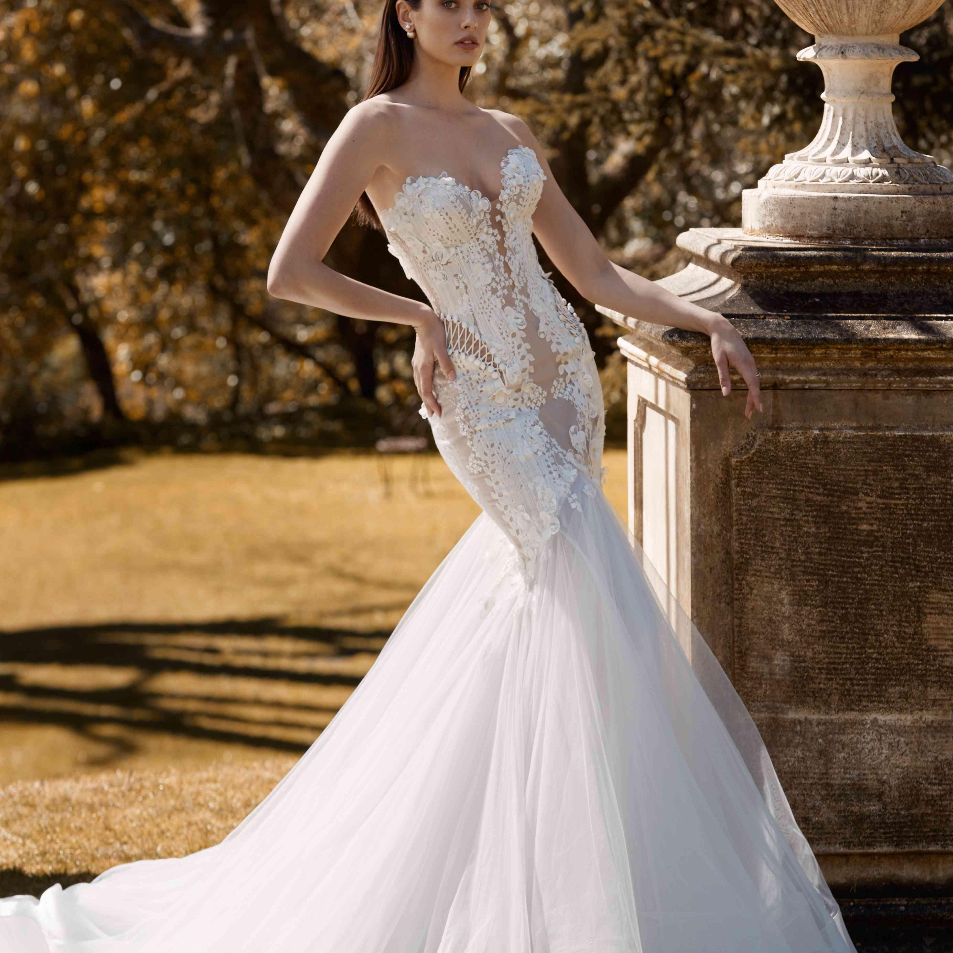 Gabrielle strapless mermaid wedding dress
