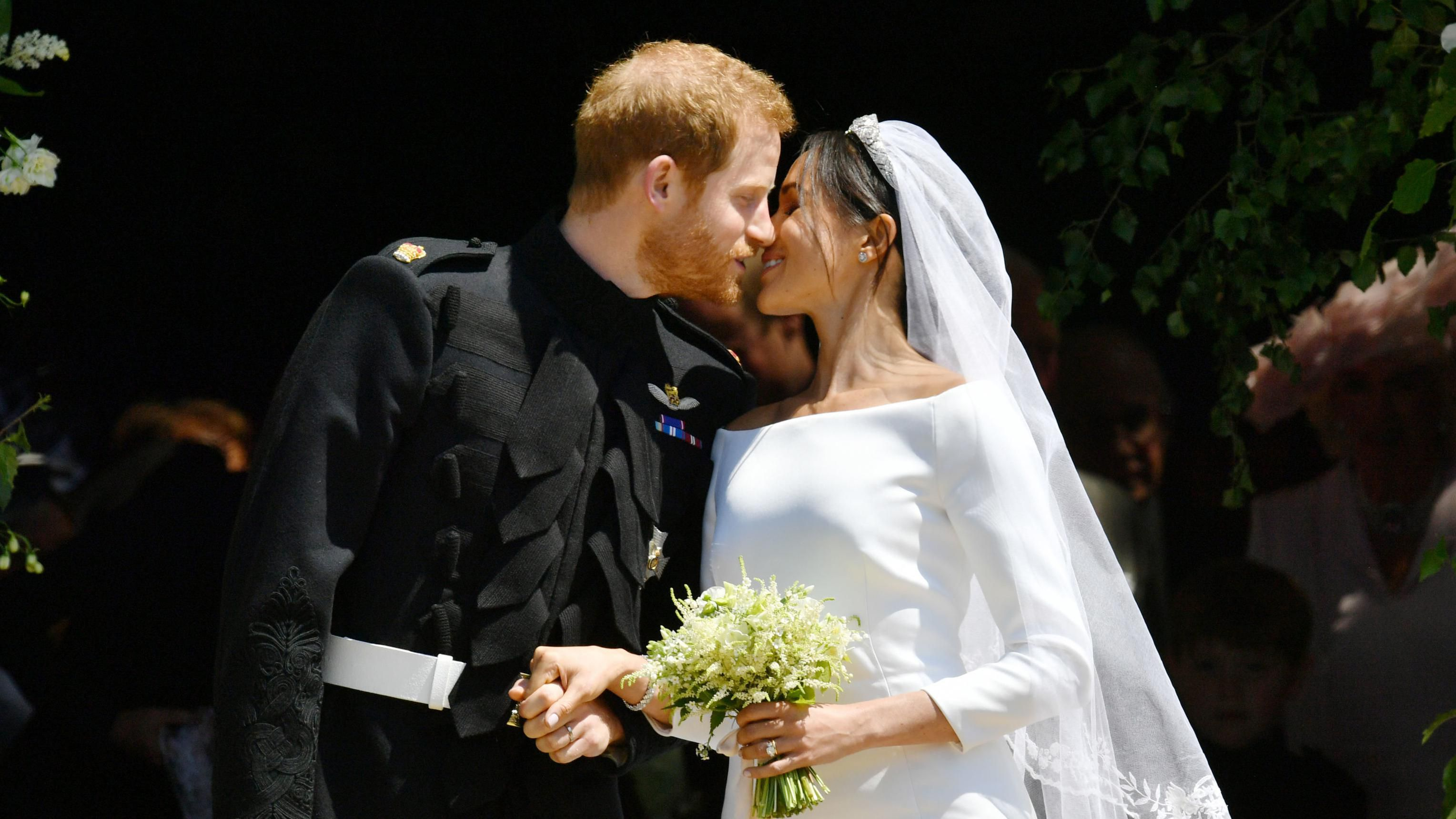 Meghan Markle Followed This Sweet Royal Wedding Bouquet Tradition