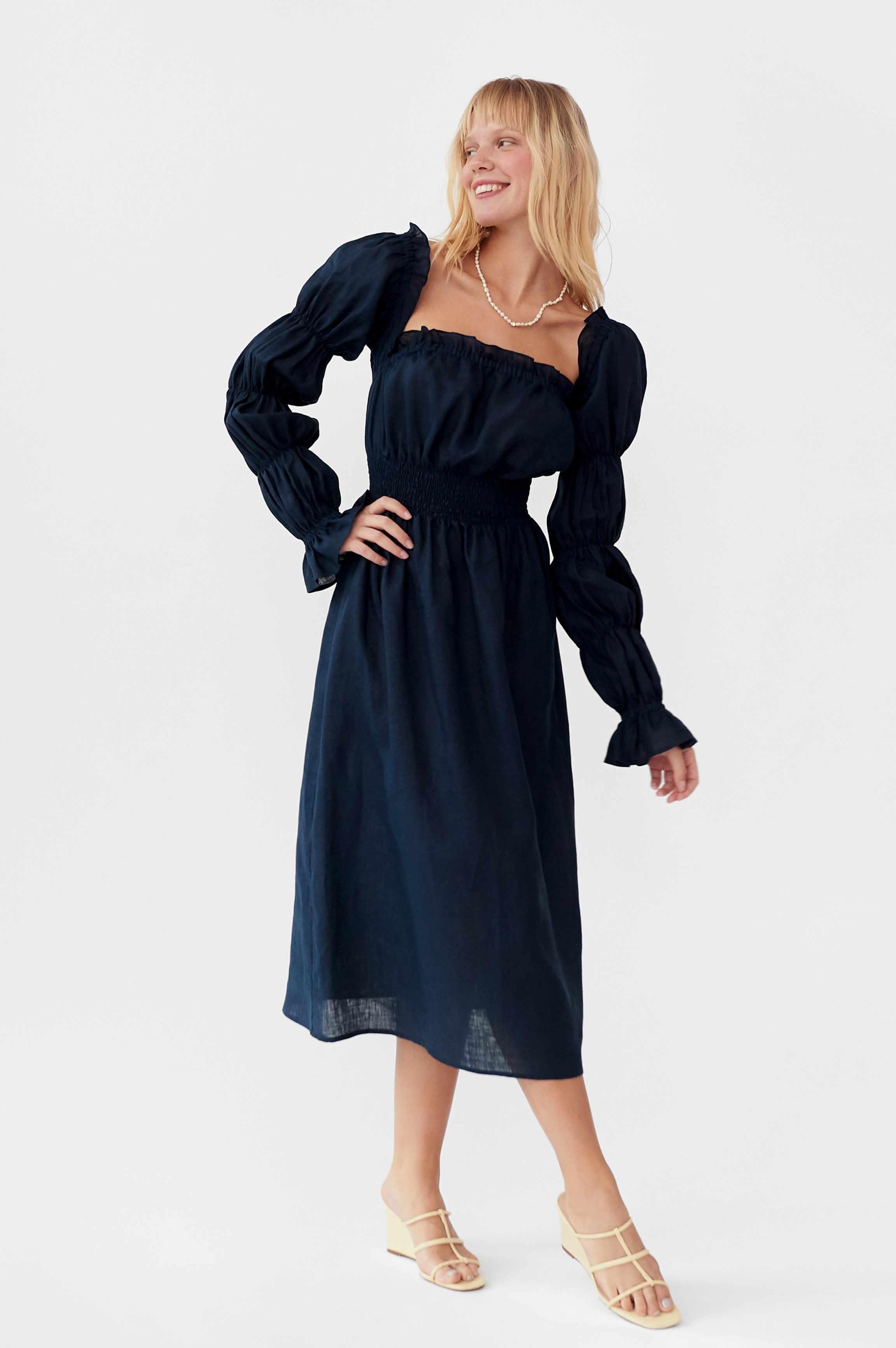 Sleeper Michelin Linen Dress $224 (originally $320)