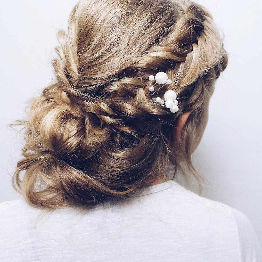 Braided Wedding Hair Style: 50 Braided Wedding Hairstyles We Love