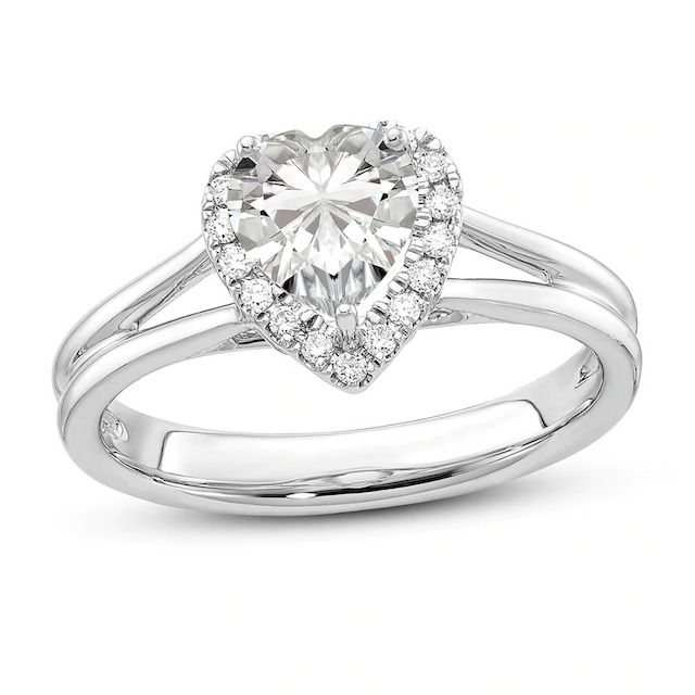 Jared Diamond Halo Engagement Ring