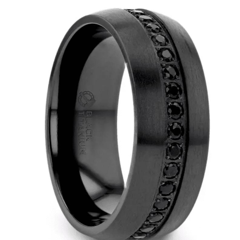 Talon Black Ring
