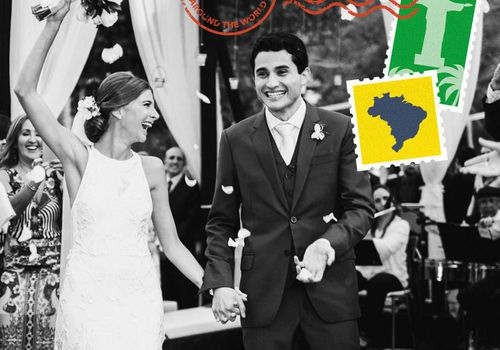 Brazilian wedding custom imagery