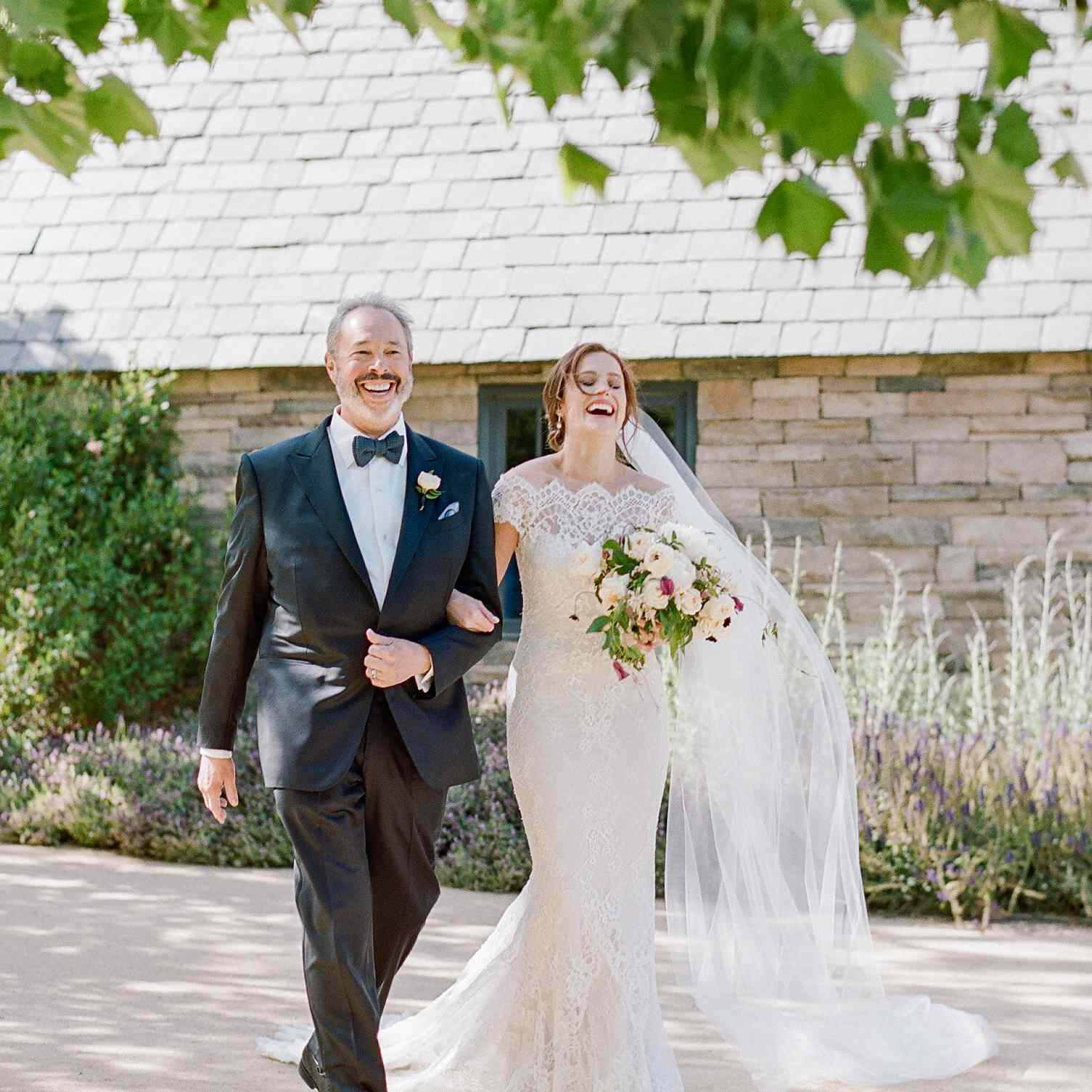 <p>bride and step-father</p><br><br>