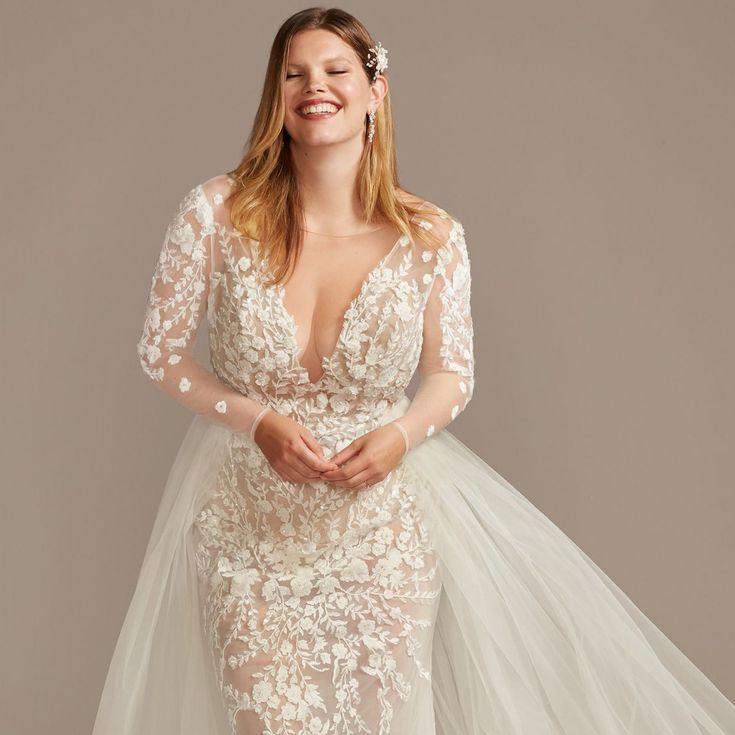 22 Best Plus Size Wedding Dresses Of 2021