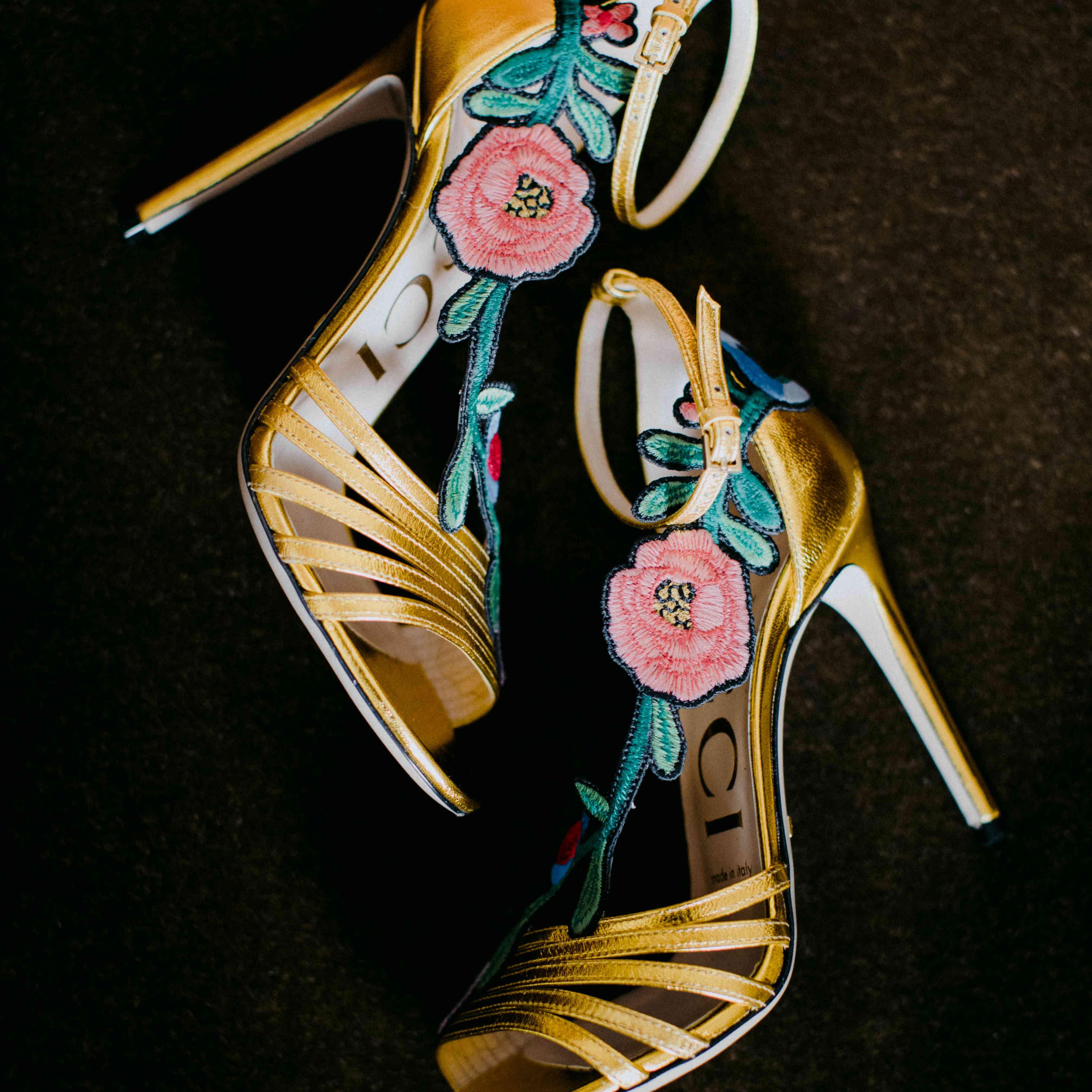 Gucci shoes detail
